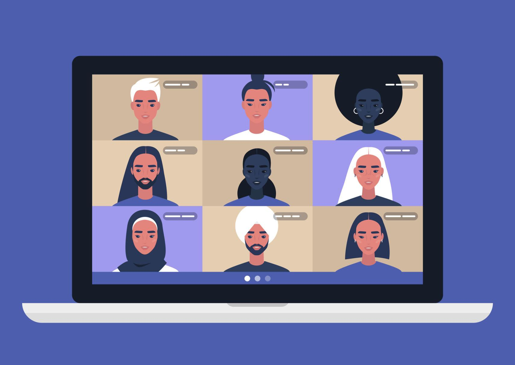 Online Meetings (like Zoom)